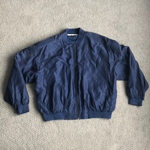 Sharper Image Bomber Jacket